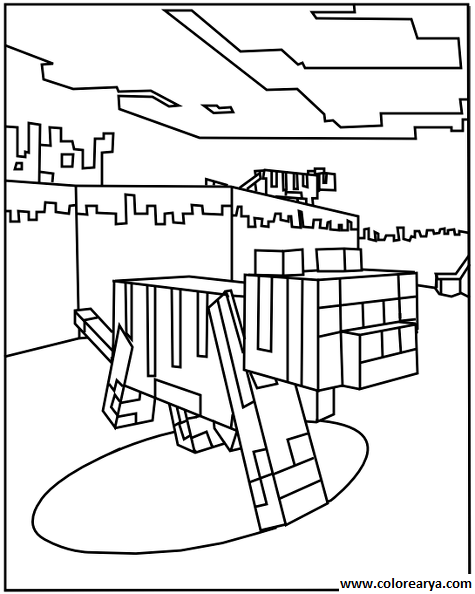 minecraft cat coloring pages minecraft drawing steve at getdrawings free download cat coloring minecraft pages