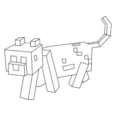 minecraft cat coloring pages minecraft stampy cat coloring pages kerra minecraft pages coloring cat