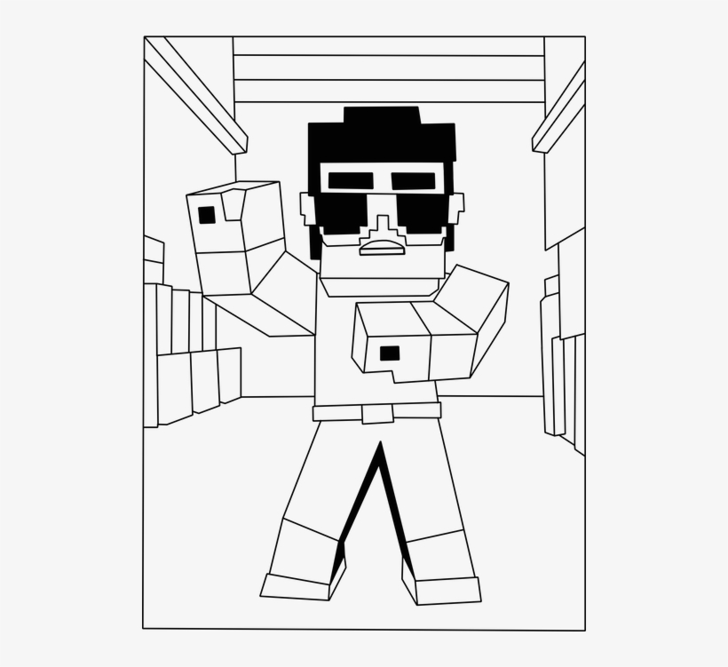 minecraft coloring codes minecraft fortnite drawing roblox png clipart artwork boy coloring codes minecraft