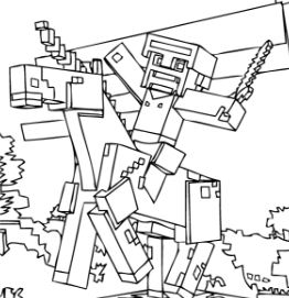 minecraft nether coloring pages 20 best ausmalbilder minecraft enderman pages minecraft coloring nether