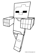minecraft nether coloring pages 40 printable minecraft coloring pages nether pages coloring minecraft