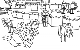 minecraft nether coloring pages minecraft coloring pages coloring minecraft pages nether