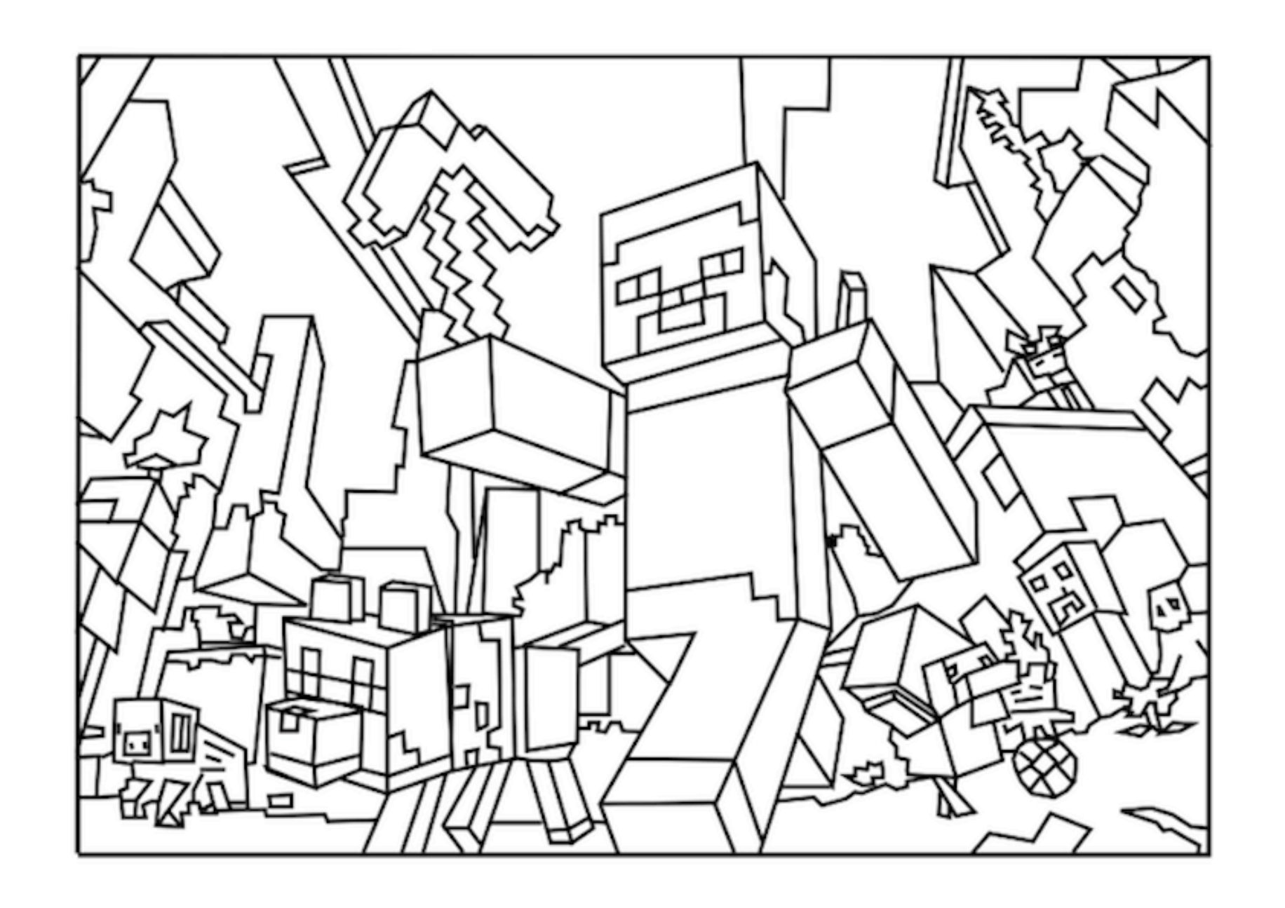 minecraft nether coloring pages minecraft nether mobs coloring pages coloring pages minecraft pages coloring nether