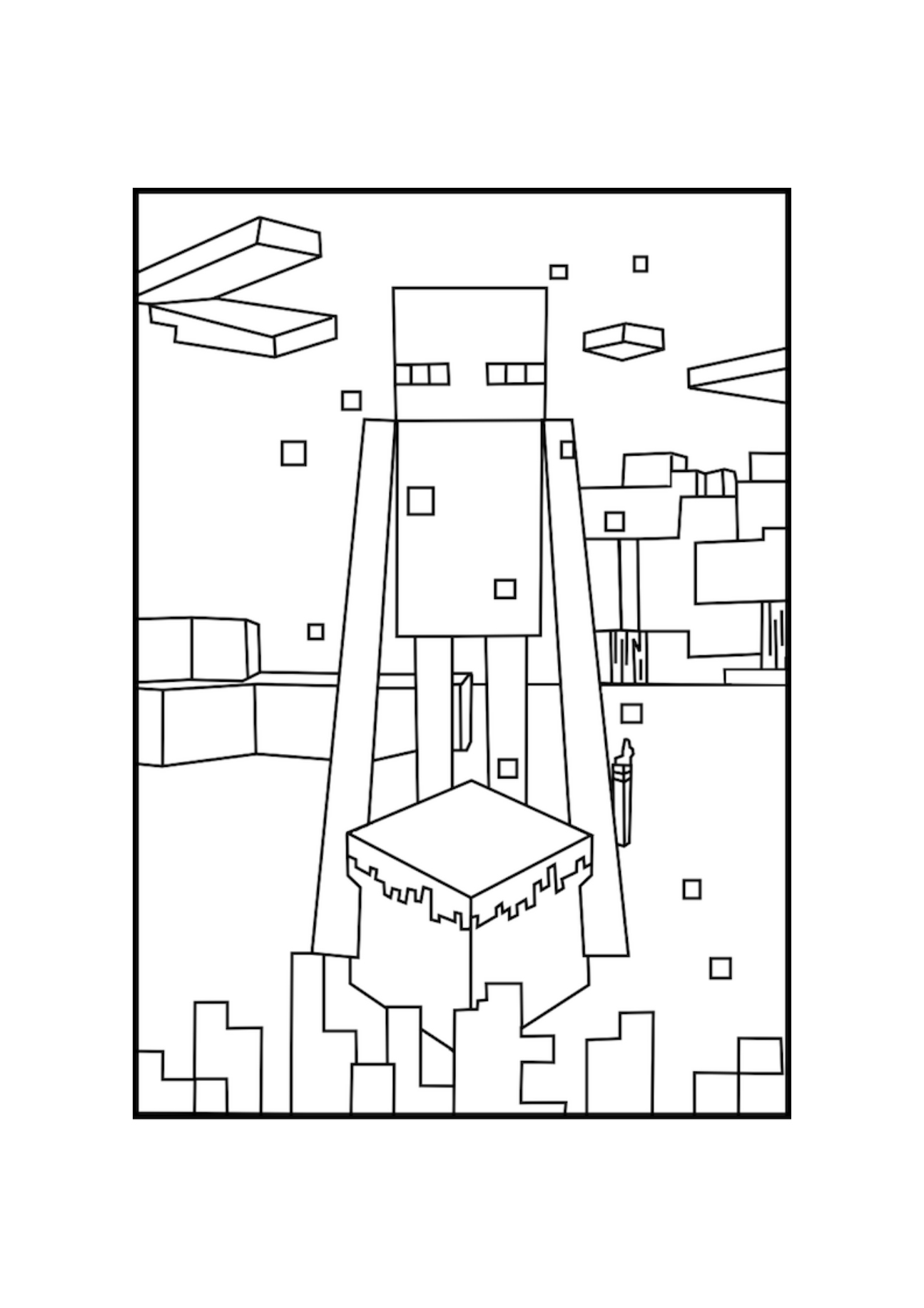 minecraft nether coloring pages minecraft rail minecraft coloring pages for children nether minecraft coloring pages