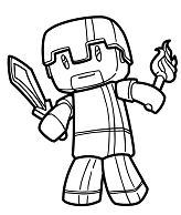 minecraft nether coloring pages minecraft steve an original free minecraft coloring page pages minecraft nether coloring