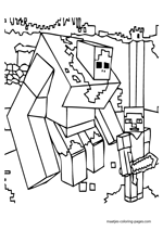 minecraft nether coloring pages minecraft world minecraft coloring pages for children pages coloring minecraft nether