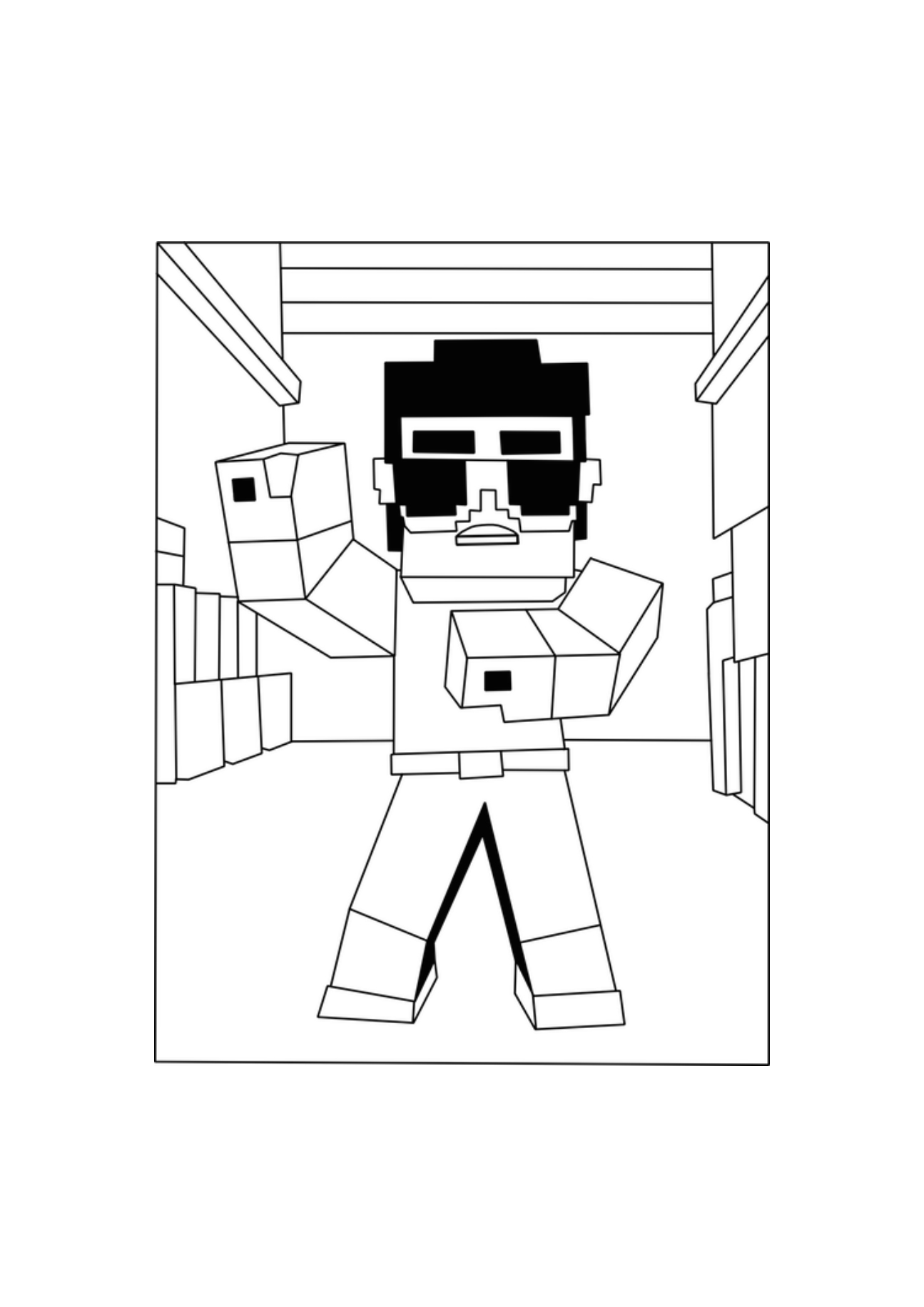 minecraft nether coloring pages popularmmos coloring pages at getcoloringscom free coloring pages nether minecraft