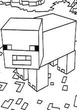 minecraft pig coloring transformers coloring pages and coloring on pinterest pig minecraft coloring