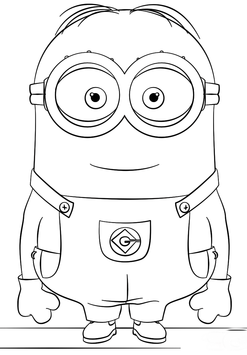 minions print minion coloring pages best coloring pages for kids minions print