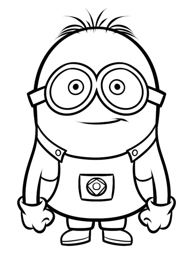 minions print minion coloring pages best coloring pages for kids minions print 1 1