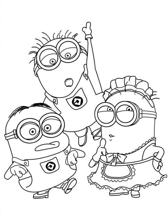 minions print minion coloring pages best coloring pages for kids print minions 1 4