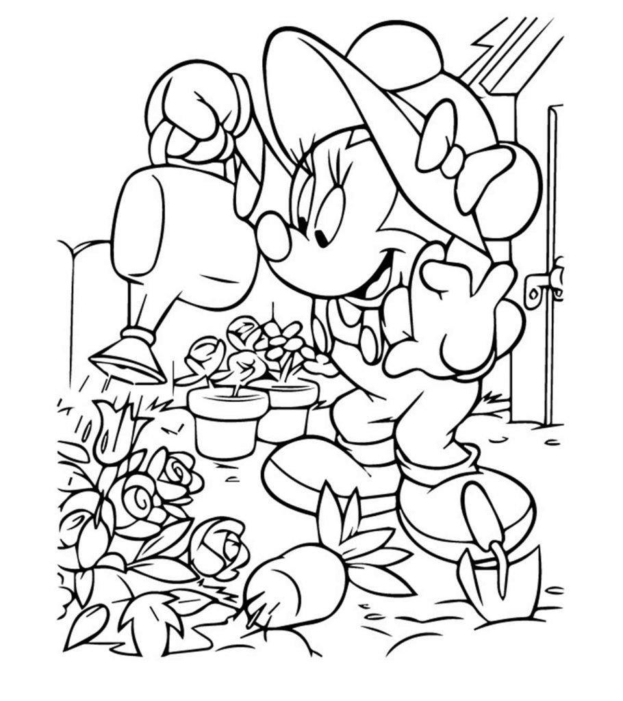 minnie mouse colouring pages free disney coloring pages colouring pages minnie free mouse