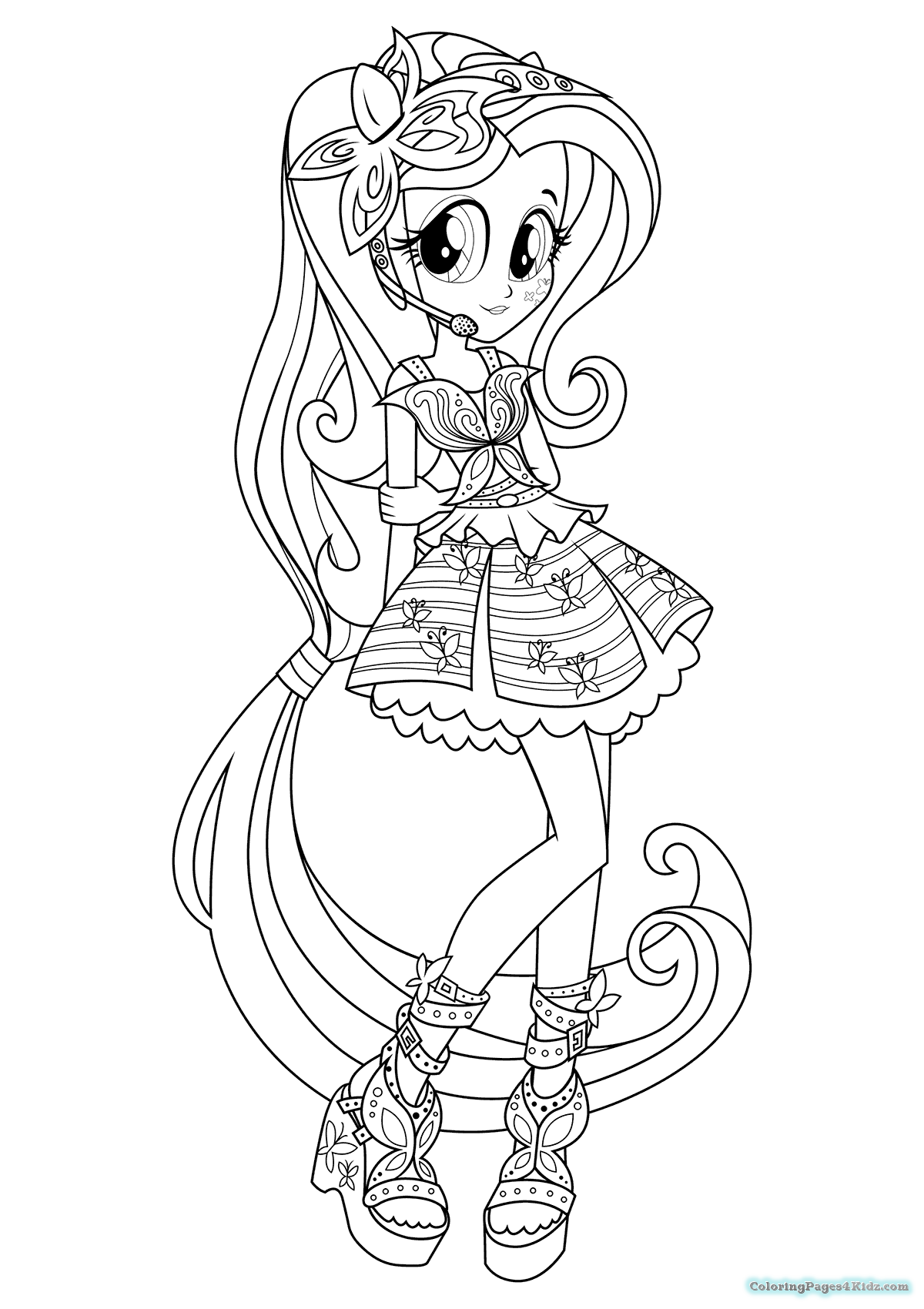 mlp eg coloring pages equestria girl pinkie pie lineart by darkengales on deviantart eg pages mlp coloring