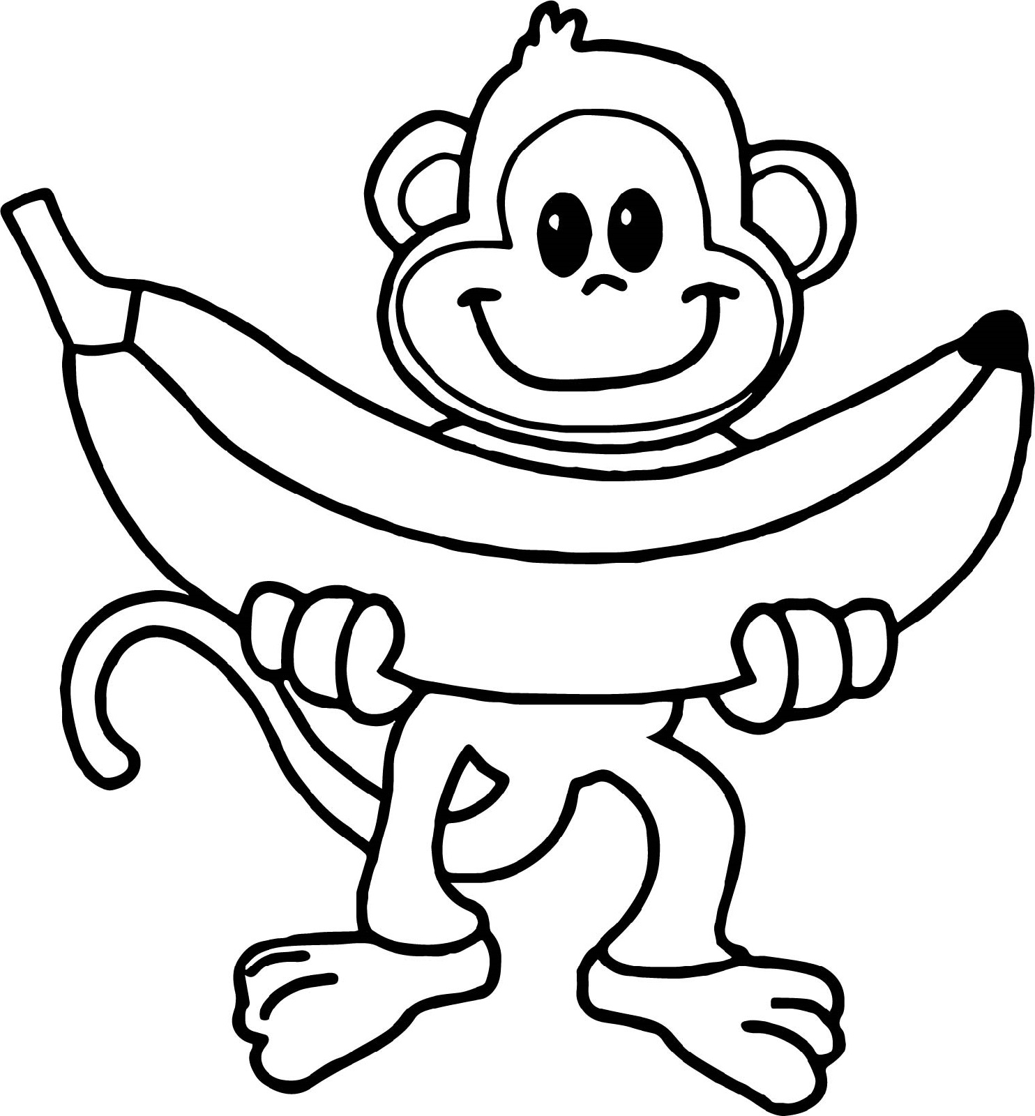 monkey pictures to color coloring pages of monkeys pictures color to monkey