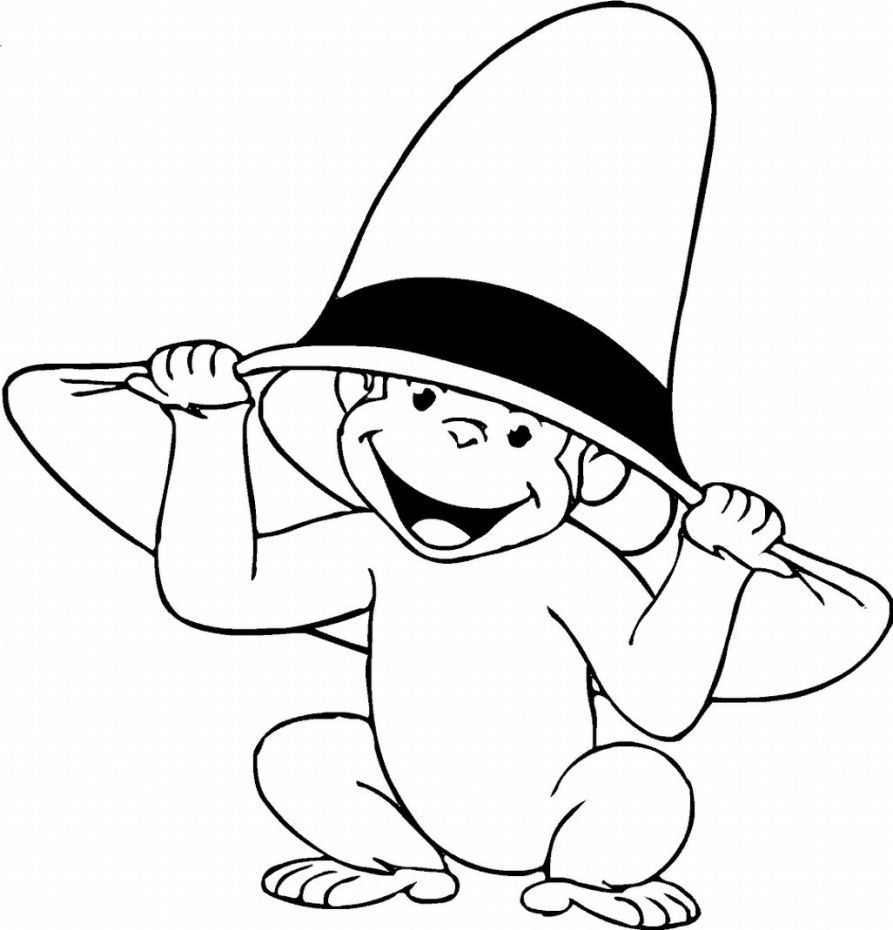 monkey pictures to color cute monkey preschool coloring pages coloringrocks in monkey color pictures to