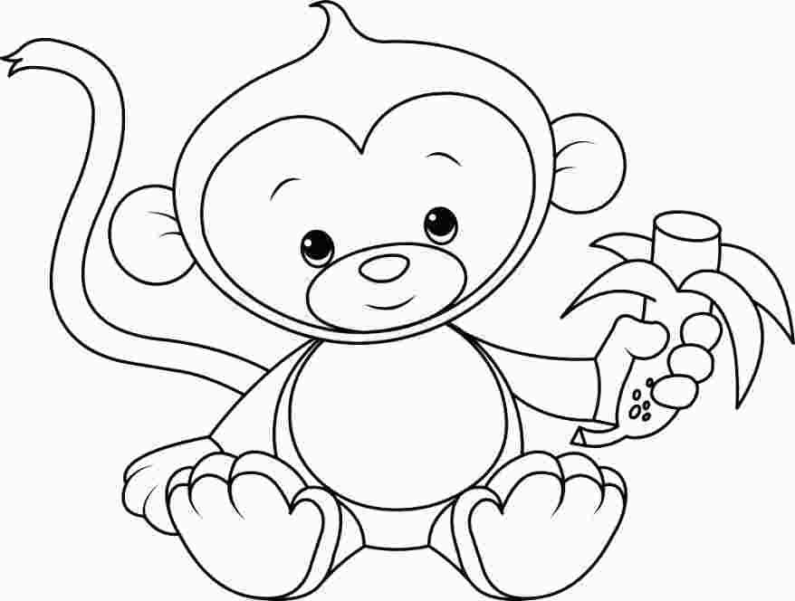 monkey pictures to color little monkey coloring pages 101 coloring pictures color to monkey