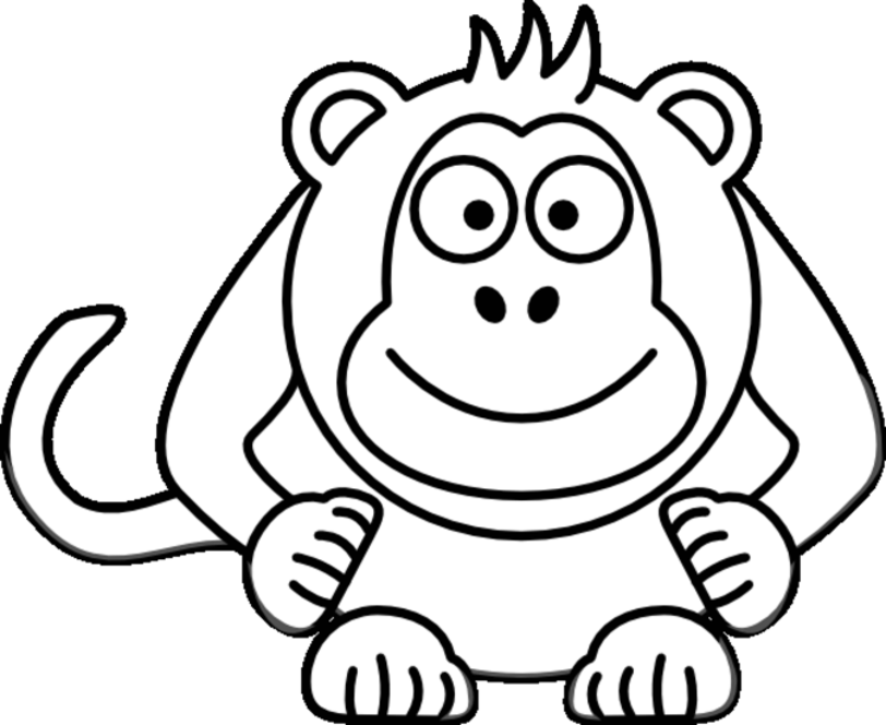 monkey pictures to color monkey coloring pages coloring pages to download and print to color monkey pictures
