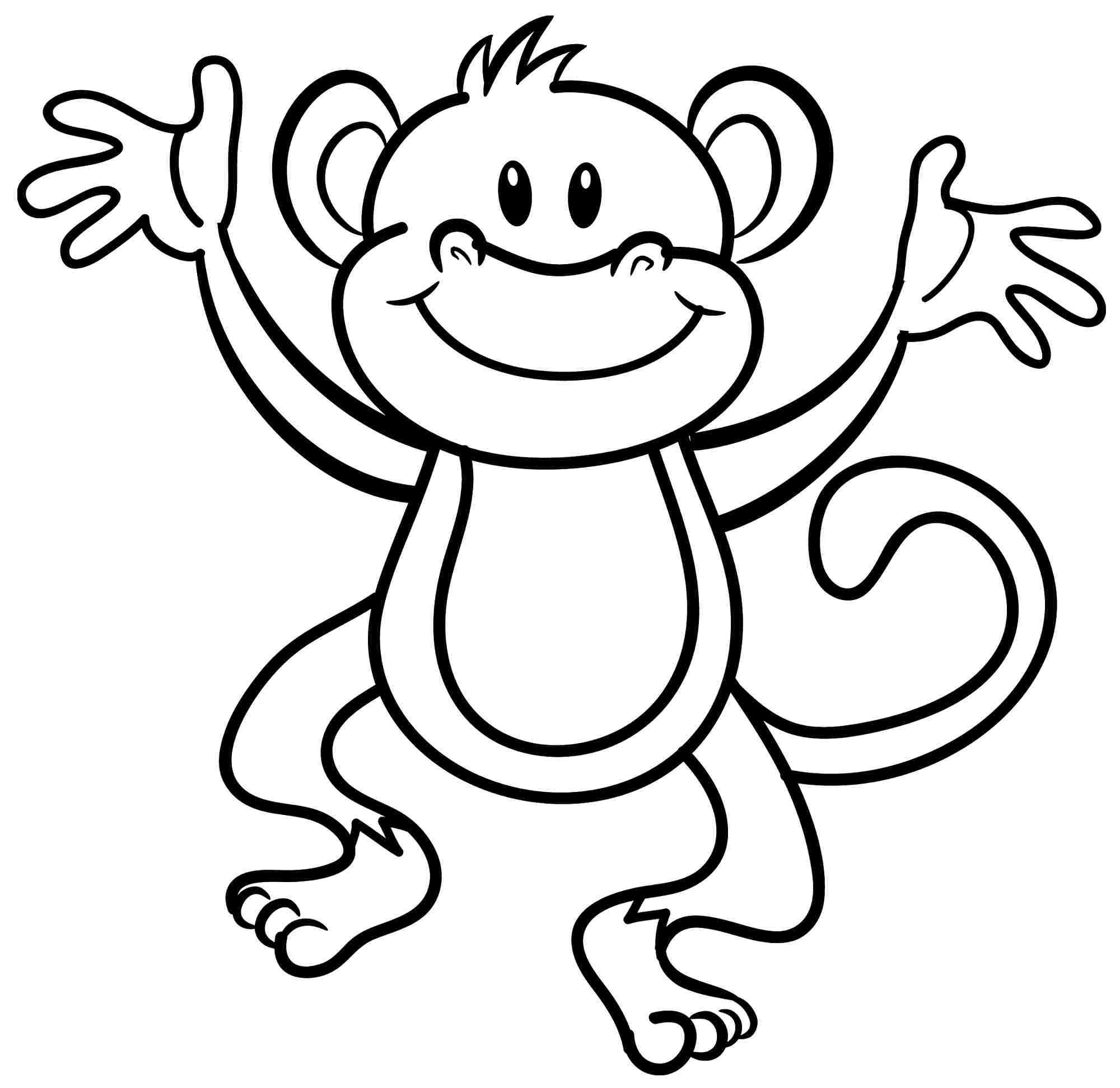 monkey pictures to color monkeys to print for free monkeys kids coloring pages color monkey pictures to