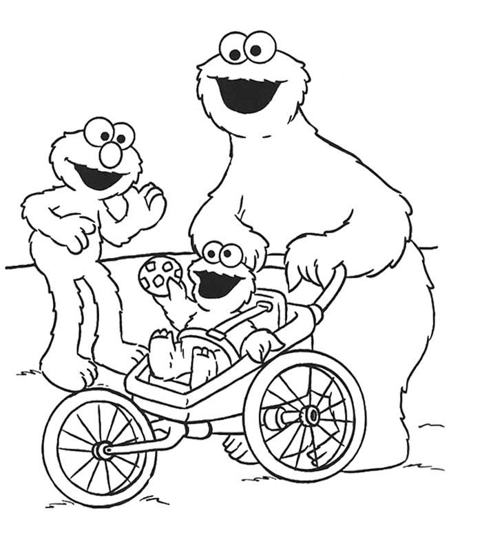monster coloring pages printable cookie monster coloring pages to download and print for free coloring printable pages monster