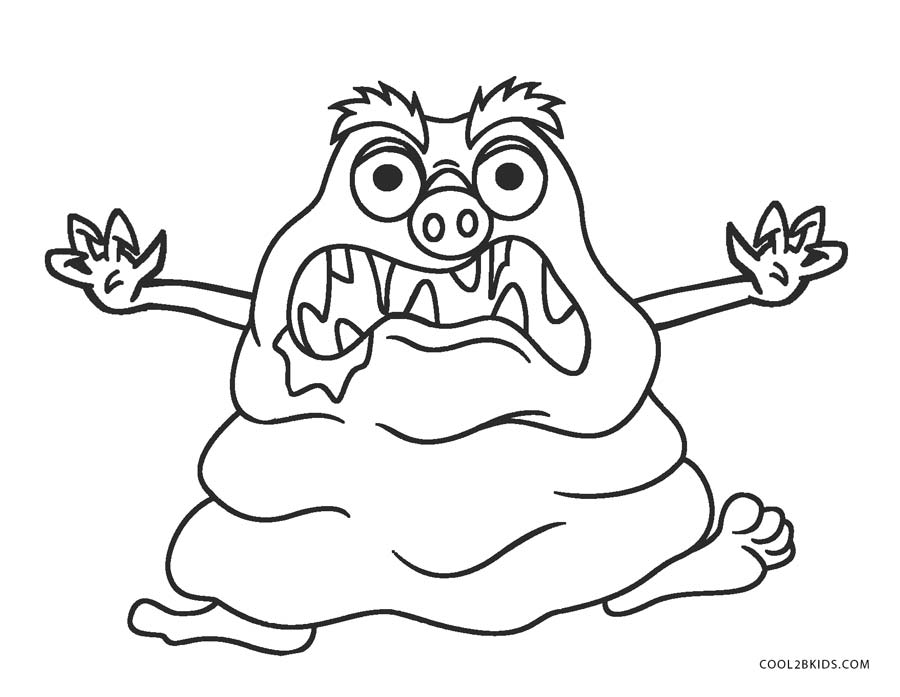 monster coloring pages printable free printable monster coloring pages for kids pages printable coloring monster