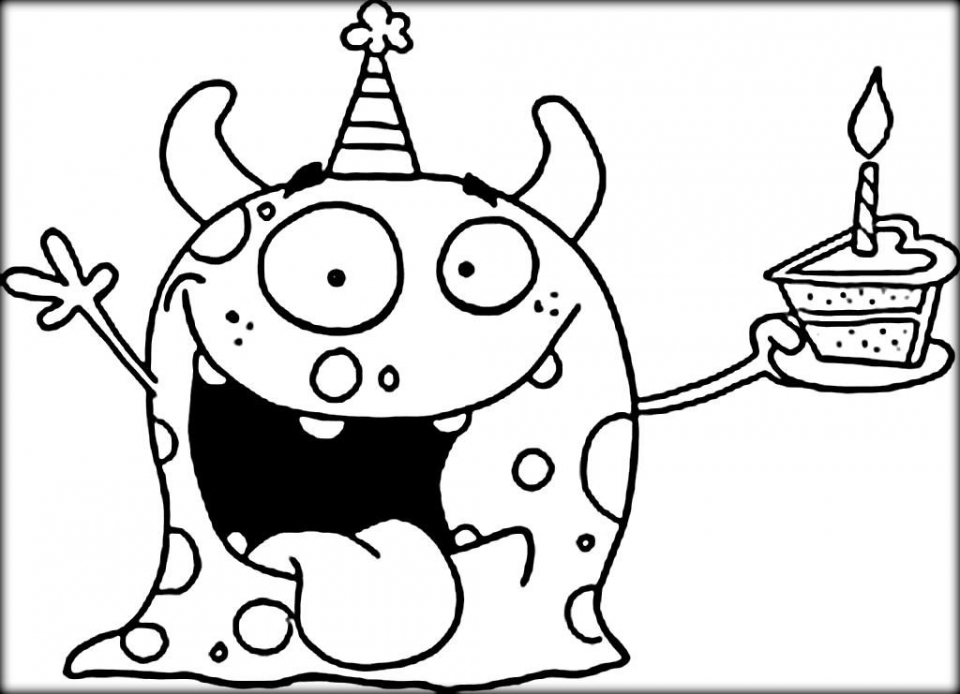 monster coloring pages printable get this monster coloring pages to print 957dg3 coloring monster printable pages