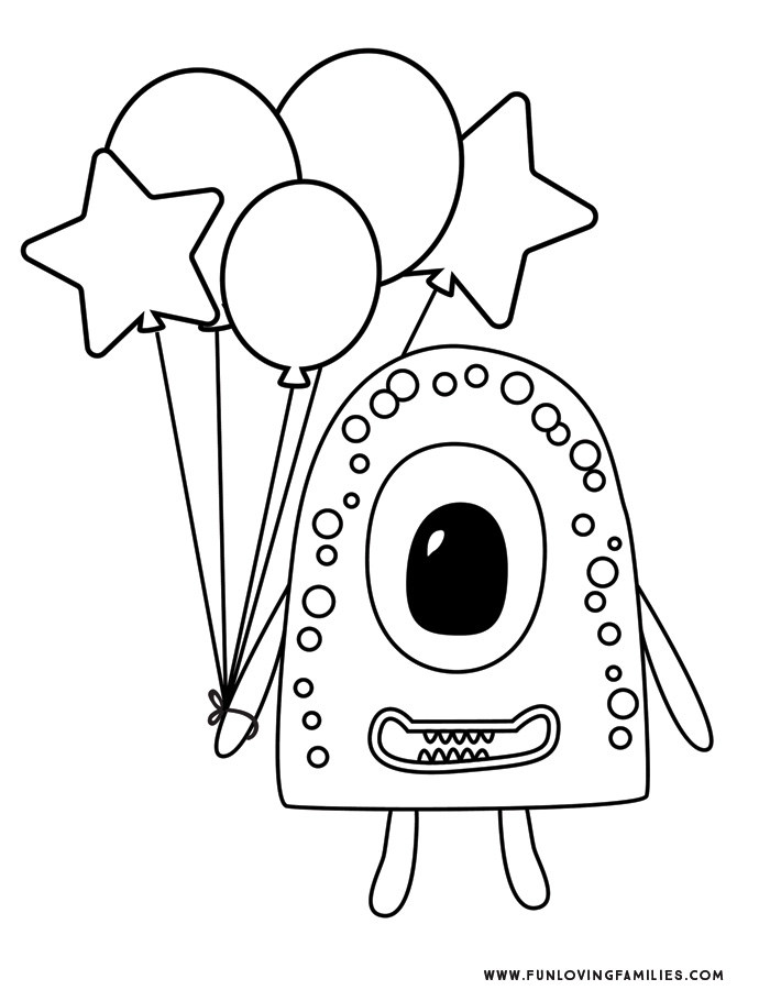monster coloring pages printable monster coloring pages 4 cute and silly monsters for kids pages monster coloring printable