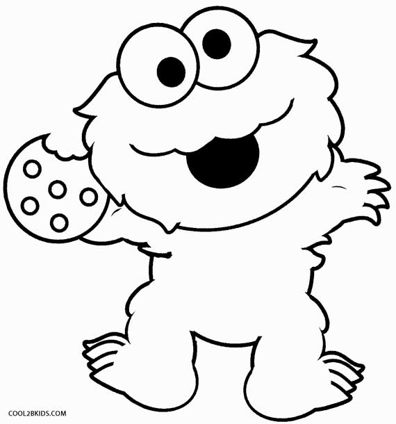 monster coloring pages printable printable cookie monster coloring pages for kids cool2bkids coloring pages monster printable