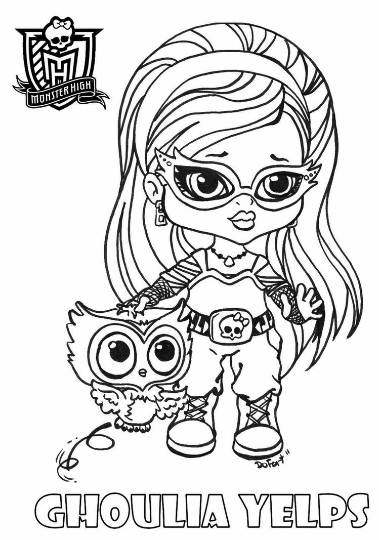 monster high pets coloring pages coloring pages of monster high pets top free printable pets coloring high monster pages