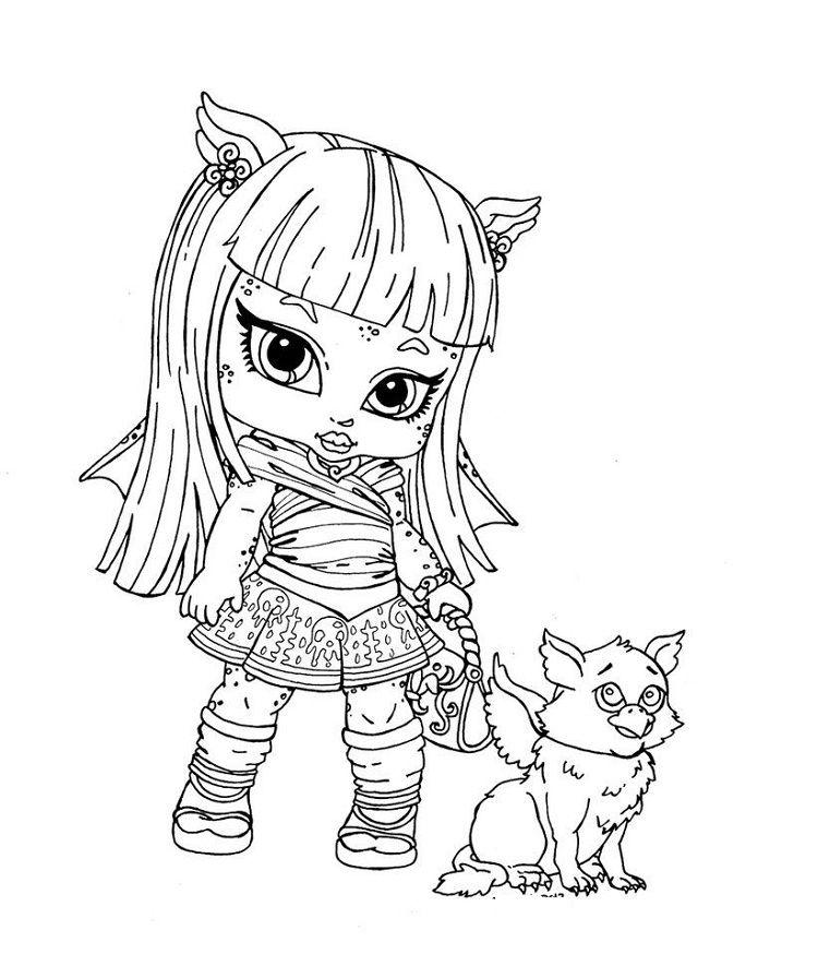 monster high pets coloring pages monster high coloring pages baby and pet coloring pages high coloring pets pages monster