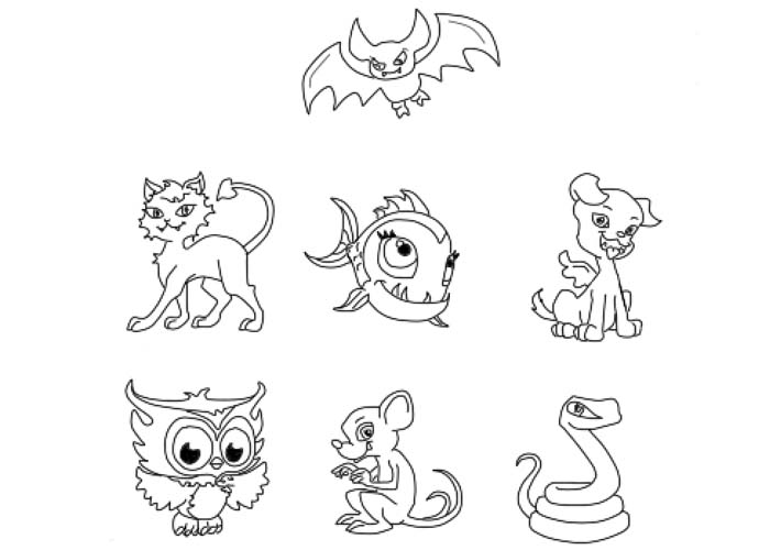 monster high pets coloring pages monster high pets coloring pages and rockseena pet coloring pages monster pets high