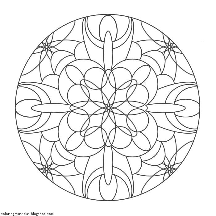 moon mandala coloring pages free printable coloring pages color a mandala coloring moon mandala pages