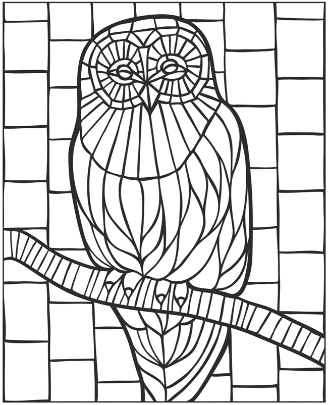 mosaic coloring pages to print mystery mosaic coloring pages at getcoloringscom free pages coloring print mosaic to