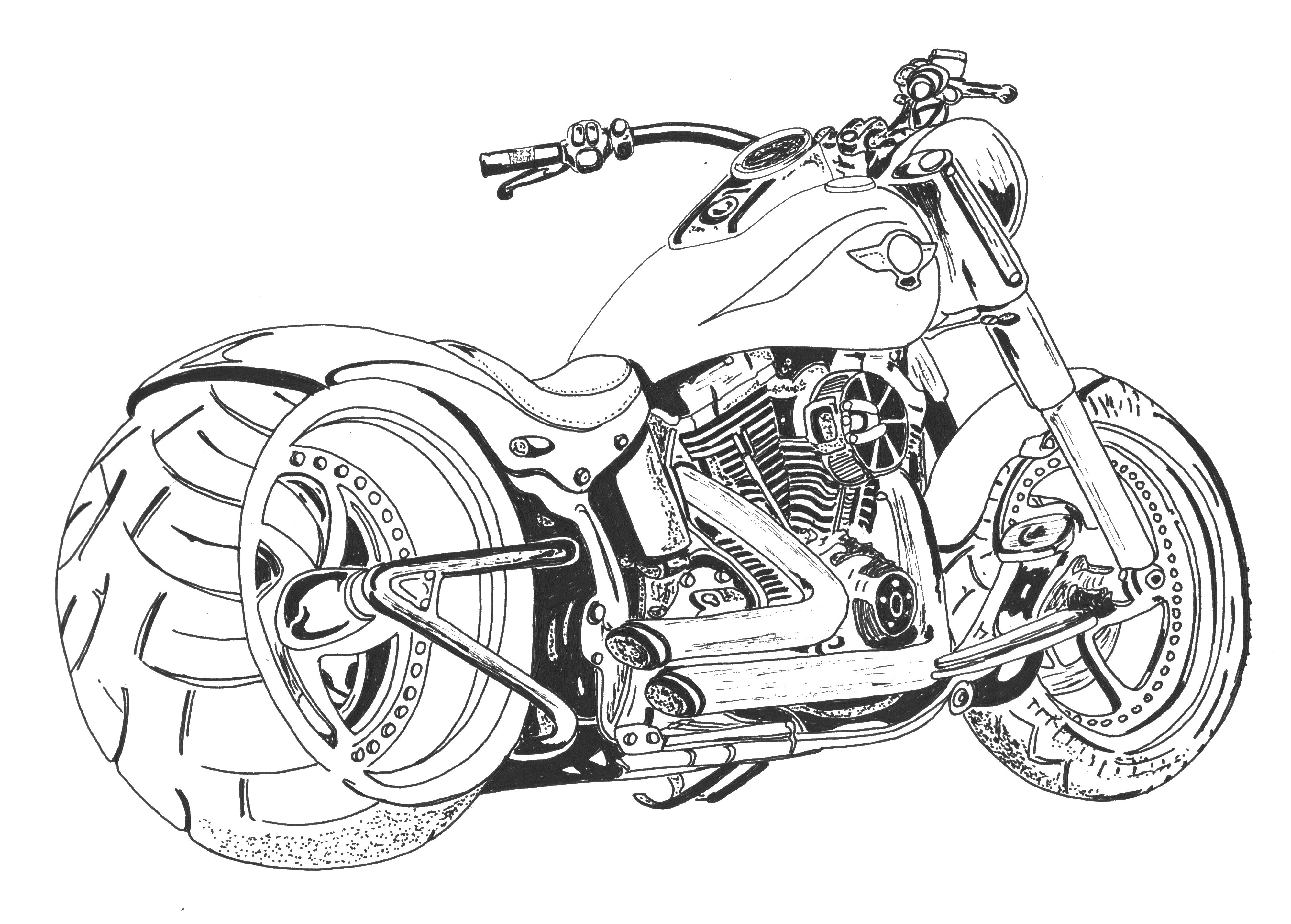 motorcycle drawing 1940 indian scout motorcycle art print drawing by stephen motorcycle drawing