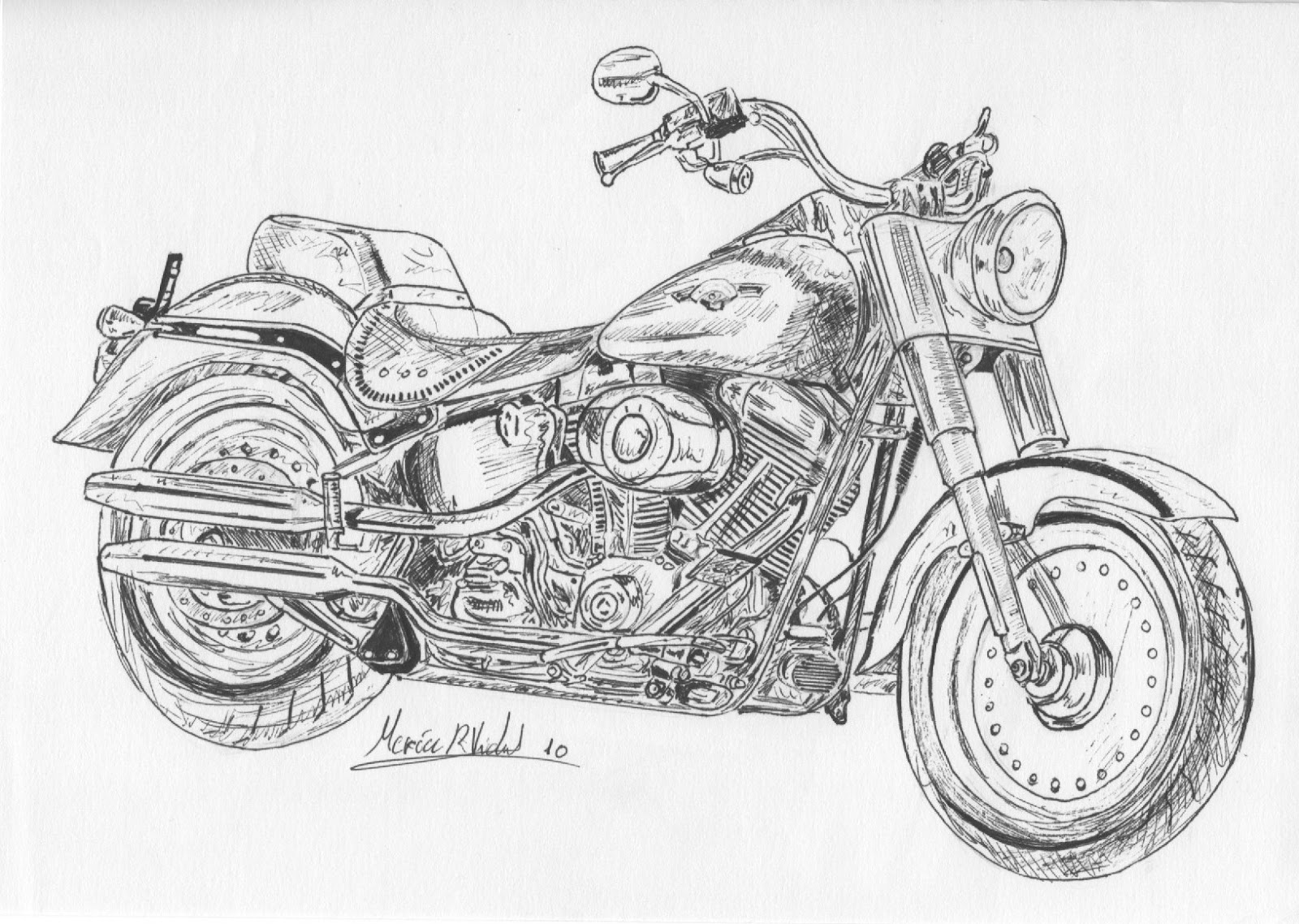 motorcycle drawing motorcycle chopper drawing at getdrawings free download drawing motorcycle