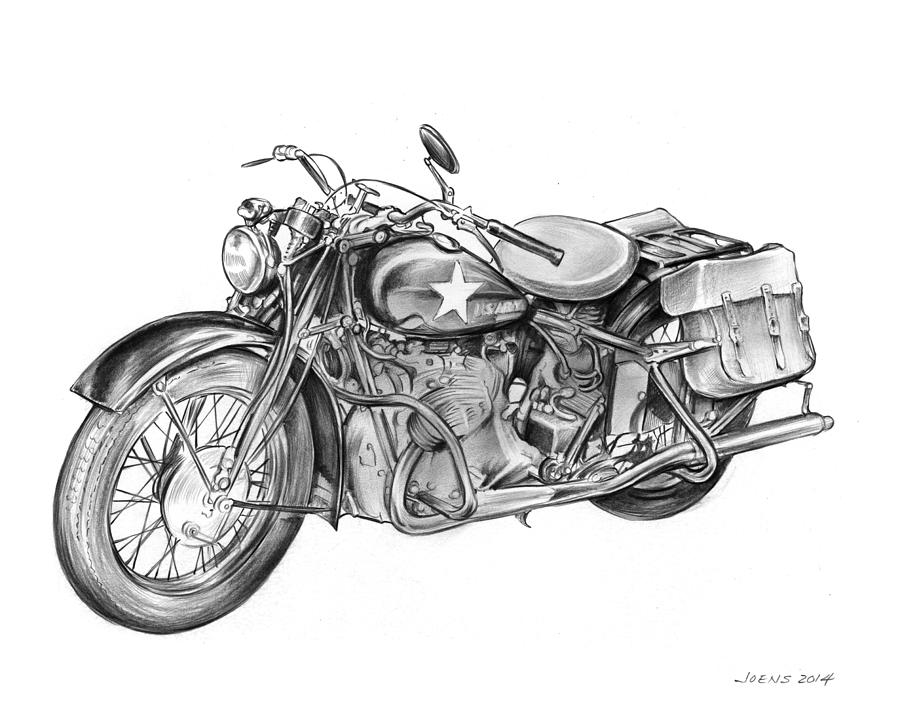 motorcycle drawing motorcycle outline drawing at getdrawings free download motorcycle drawing
