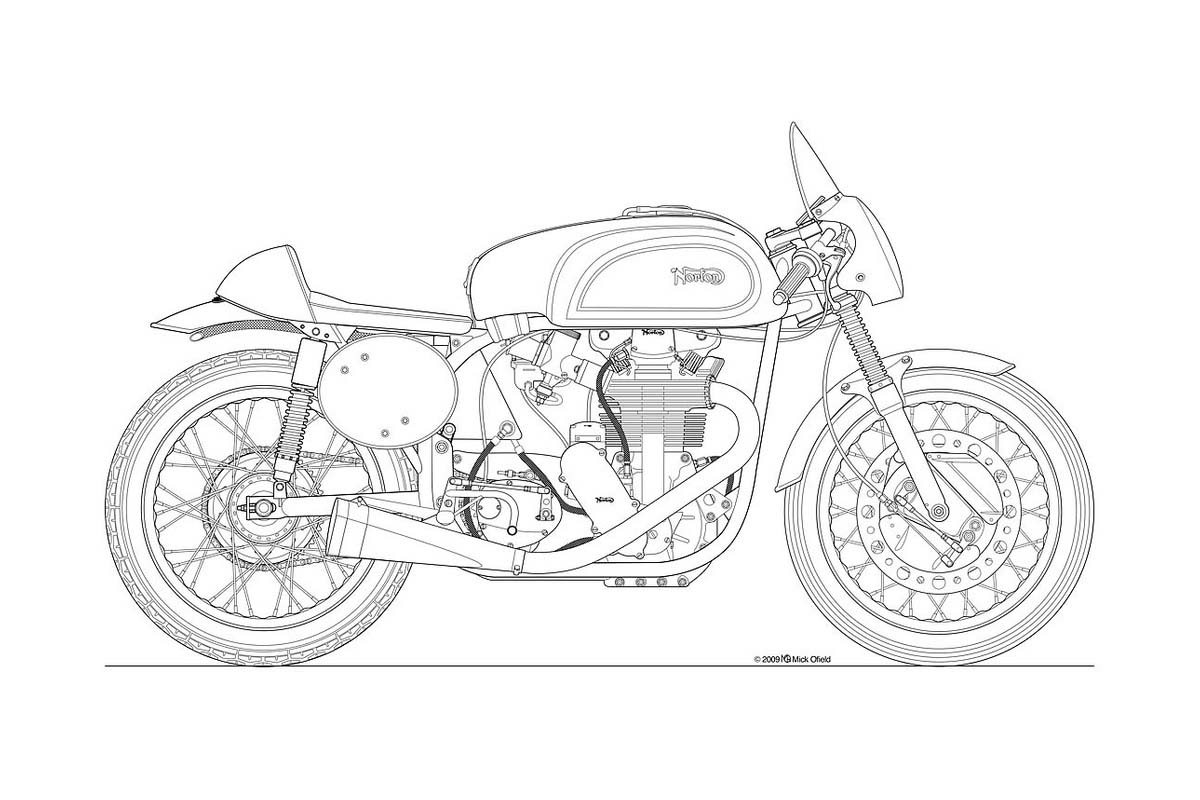 motorcycle drawing photos some classic motorcycle line art drawings motorcycle drawing 1 1