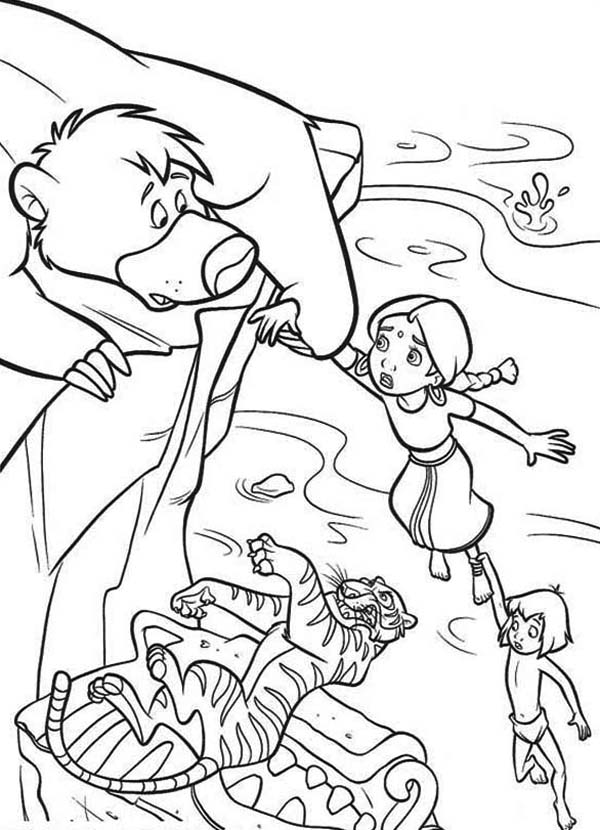 mowgli coloring pages coloring pages mowgli follows the monkey cartoons gt the mowgli pages coloring