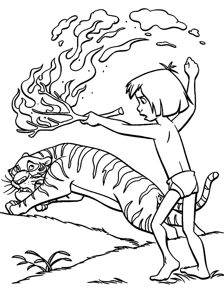 mowgli coloring pages coloring pages of jungle book coloring home mowgli pages coloring