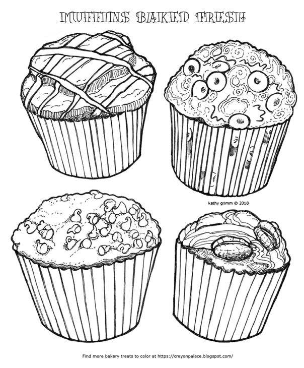 muffin coloring sheet 10 best coloring in images on pinterest coloring books coloring muffin sheet