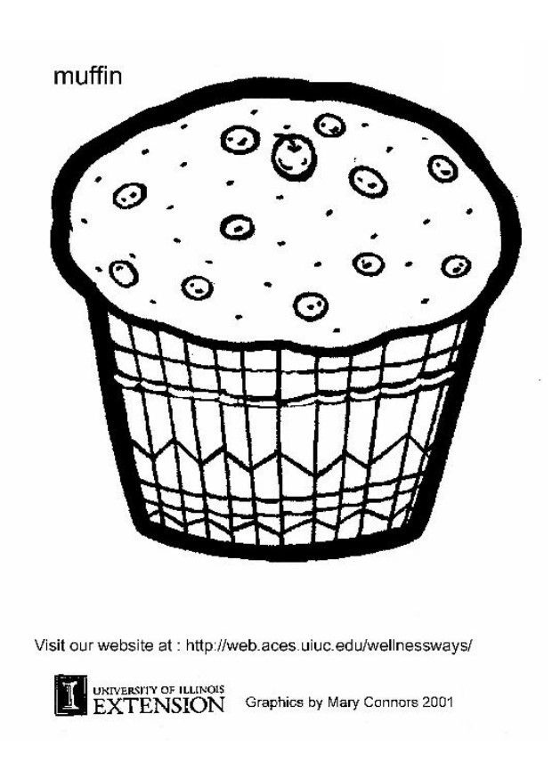 muffin coloring sheet different kinds of muffins coloring pages for you muffin coloring sheet