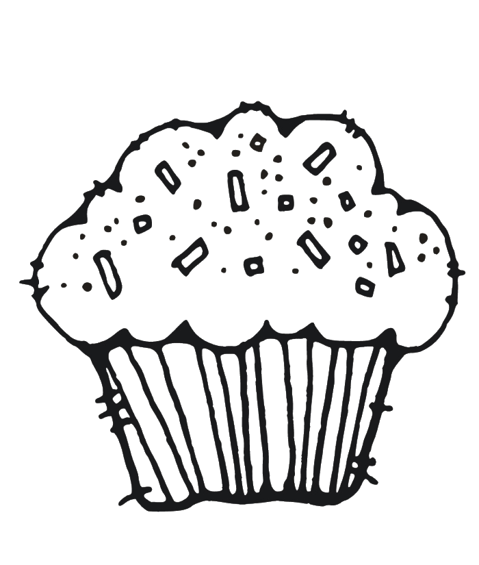 muffin coloring sheet muffins coloring page coloring home coloring muffin sheet
