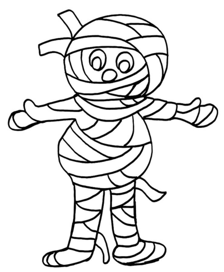 mummy coloring pages halloween mummy head coloring pages в 2020 г coloring pages mummy halloween
