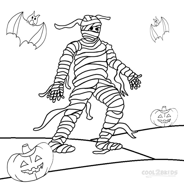 mummy coloring pages halloween printable mummy coloring pages for kids cool2bkids halloween mummy pages coloring