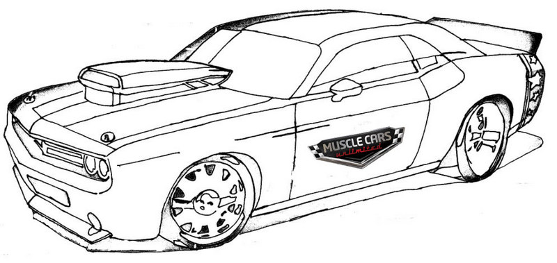 muscle car coloring pages 68 camaro drawing at getdrawings free download pages coloring car muscle