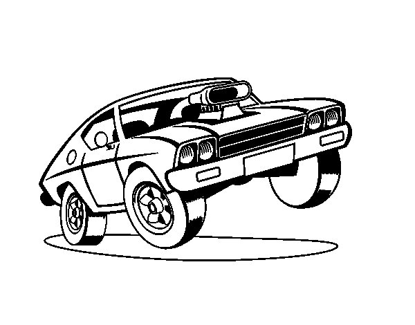muscle car coloring pages muscle car coloring pages at getcoloringscom free pages muscle coloring car