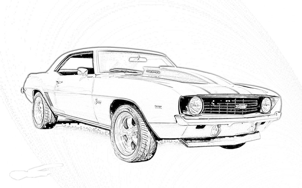 muscle car coloring pages muscle car coloring pages to download and print for free coloring pages car muscle