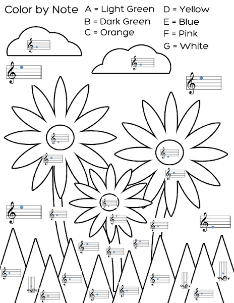 music notes coloring pages pdf music coloring pages learny kids pages music coloring pdf notes