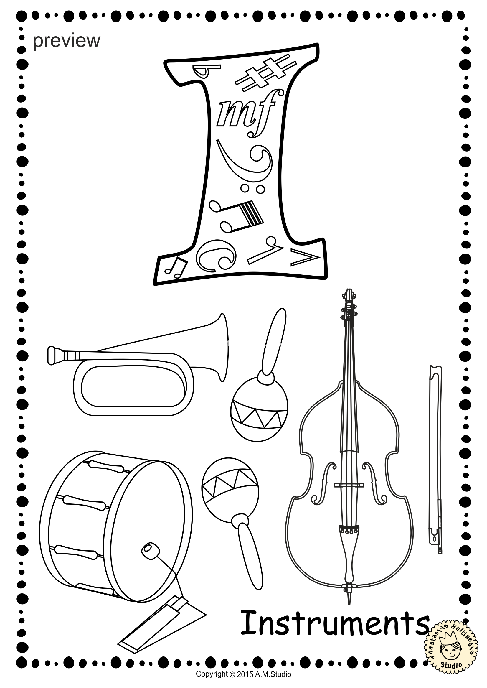 music notes coloring pages pdf this file in pdf form contains 16 percussion musical coloring notes pdf pages music
