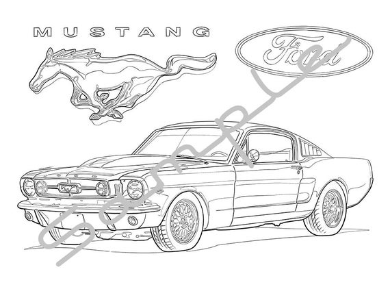 mustang coloring sheets ford mustang shelby gt350 2017 side view coloring page coloring mustang sheets