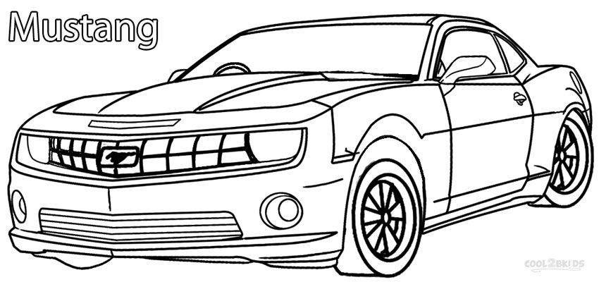 mustang race car coloring pages printable mustang coloring pages for kids cool2bkids pages car mustang race coloring